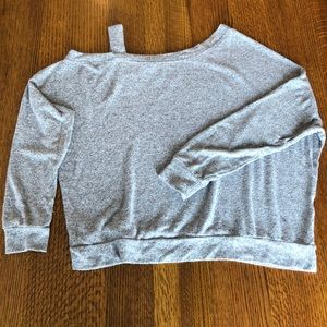 Off the one shoulder lightweight Sweater